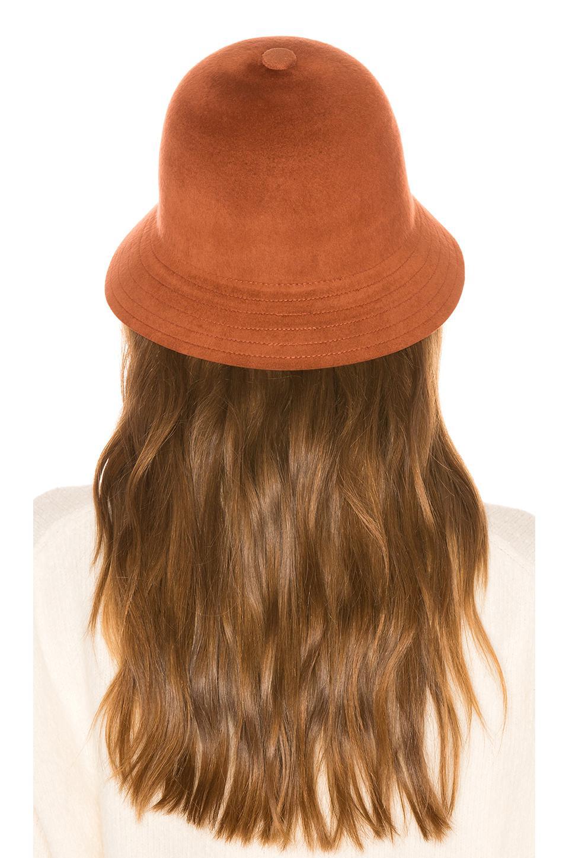 019ad29edc1 Brixton - Brown Essex Bucket Hat - Lyst. View fullscreen