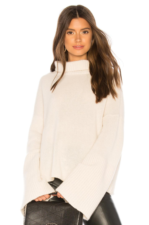 b74e85ef55b Lyst - 360cashmere Lulu Turtleneck Sweater in Natural