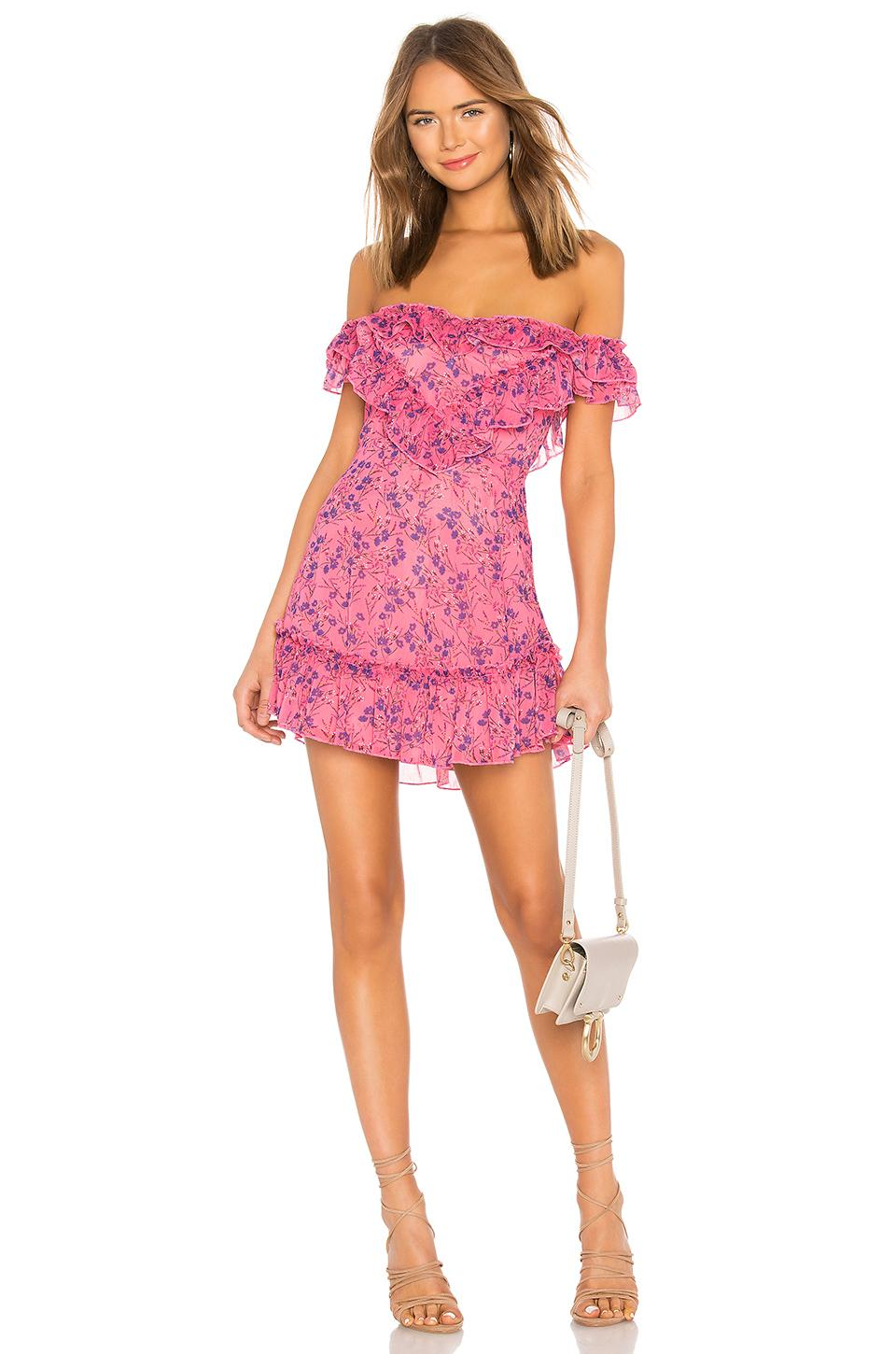 9bd00d084633 ... MAJORELLE - Pink Grace Mini Dress - Lyst. Visit REVOLVE. Tap to visit  site