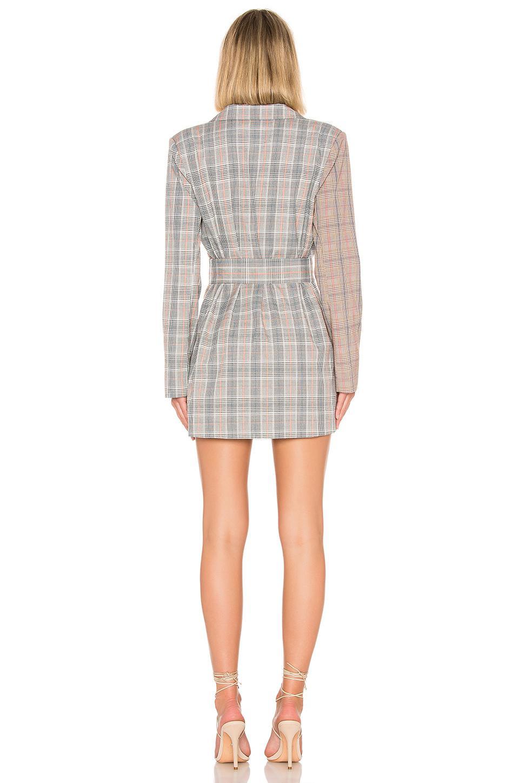 2733c99f45 Lovers + Friends Kimber Blazer Dress in Gray - Lyst
