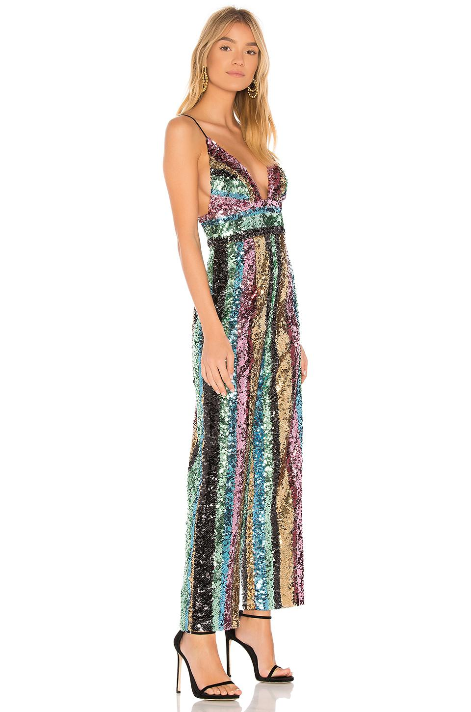 Lyst Free People Margarita Sequin Jumpsuit