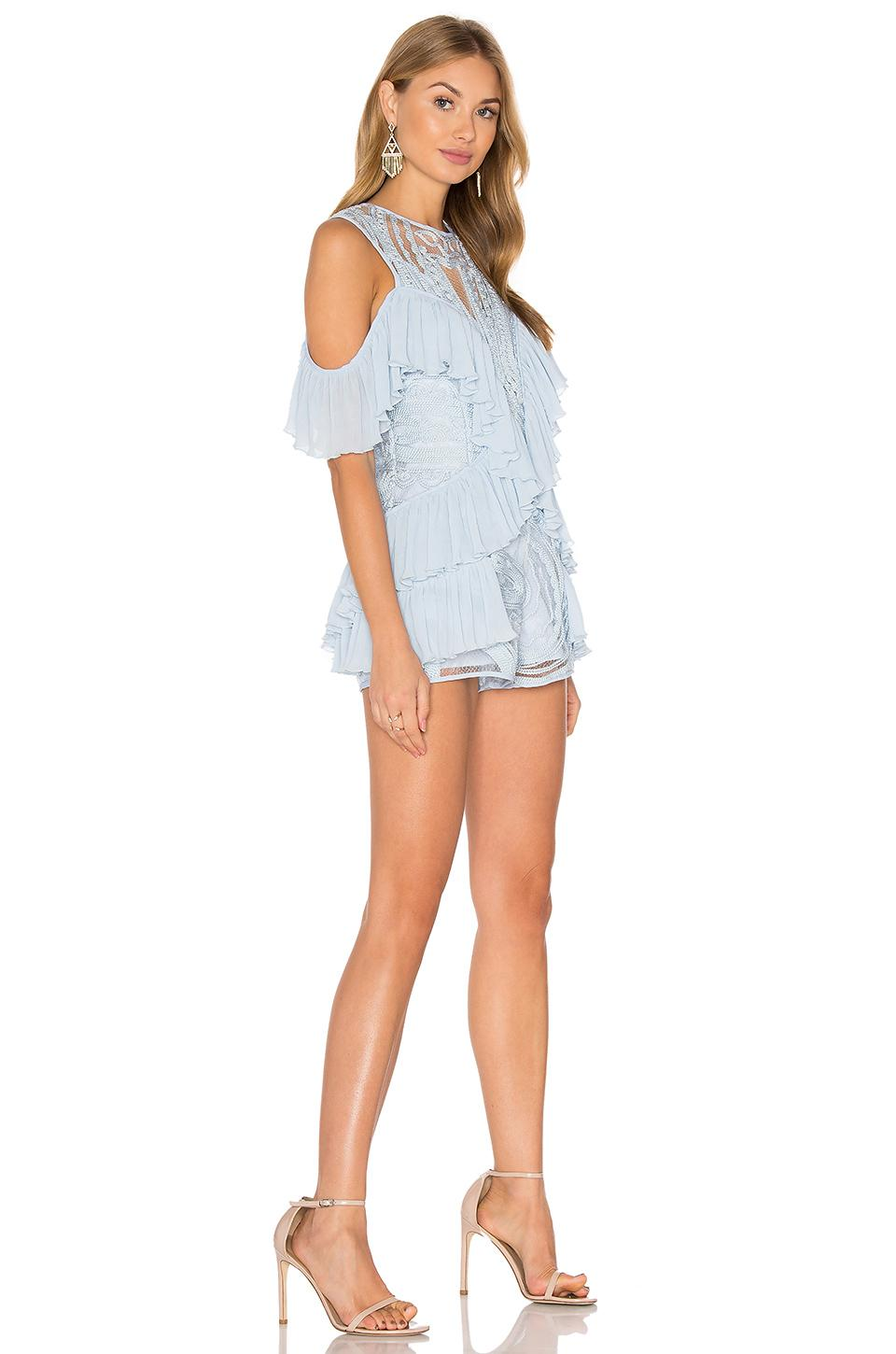 e82e06a422d Lyst - Alice McCALL You re Young So Have Fun Girl Playsuit in Blue