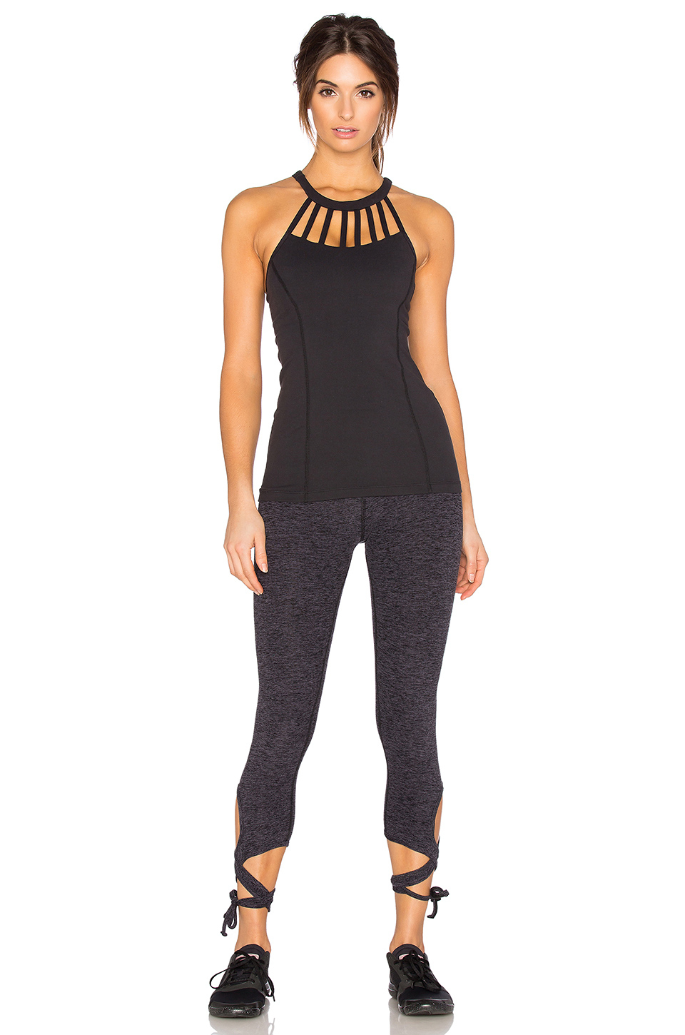 Lyst Beyond Yoga Sunray Straps Cami In Black