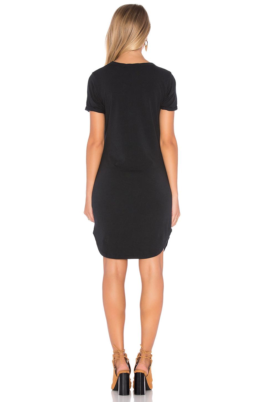 c c california adelise shirt dress in black lyst