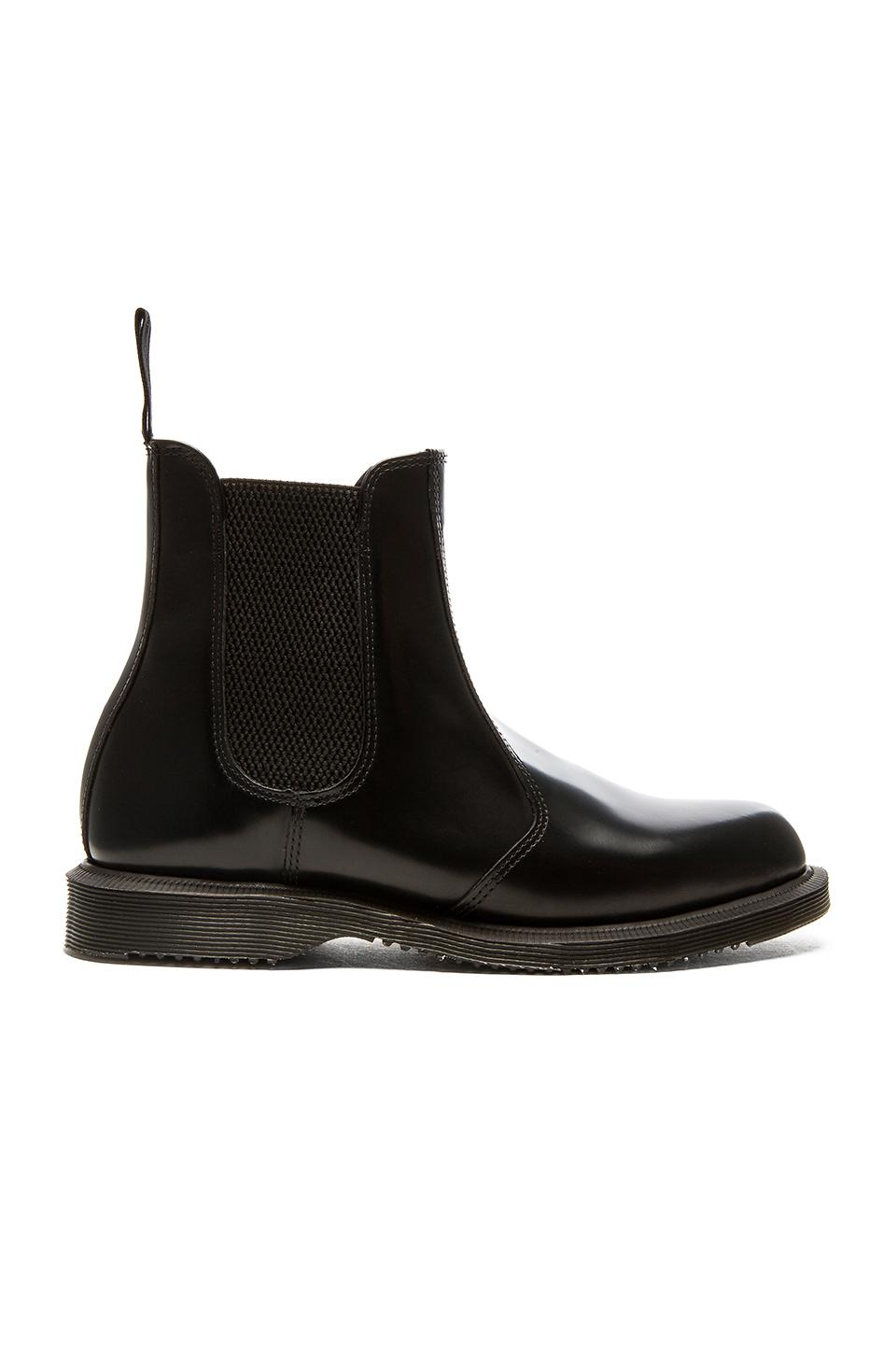 f07b58a104ee34 Lyst - Dr. Martens Flora Chelsea Boot in Purple