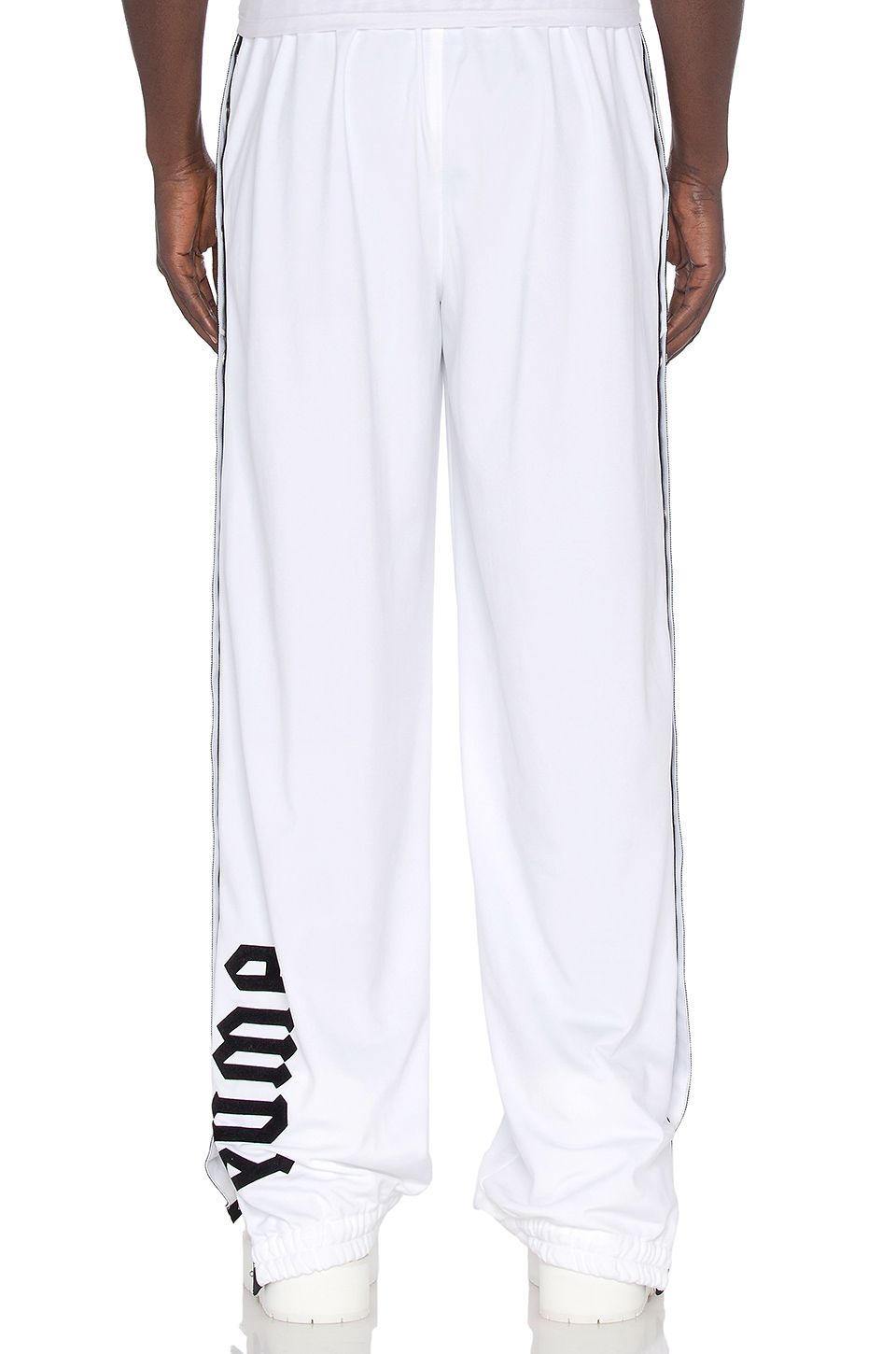 Puma Tear Away Track Pants In White For Men Lyst