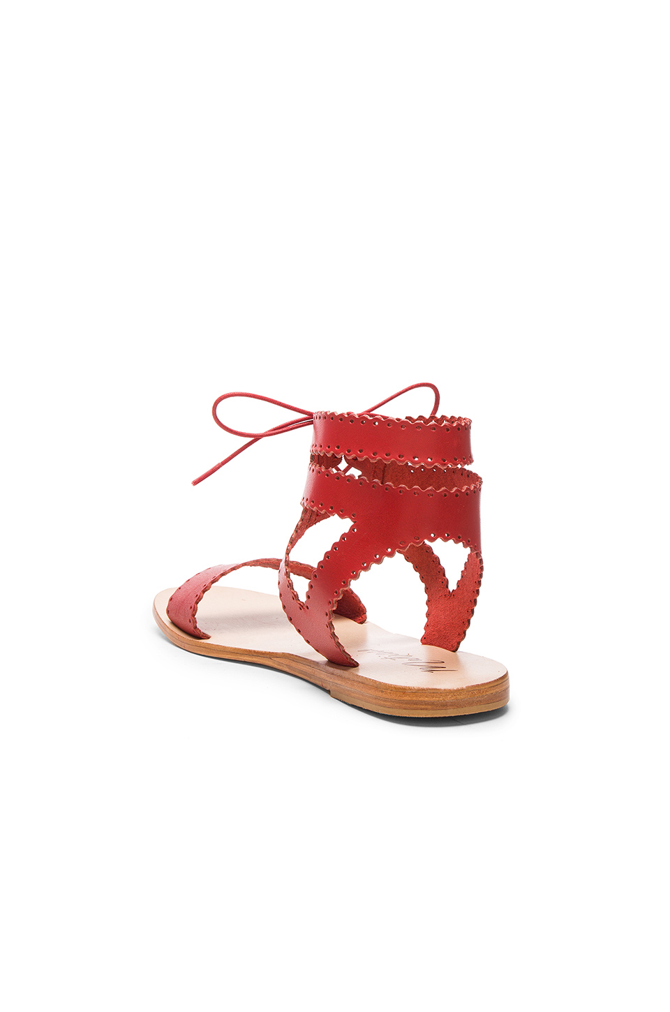 Matisse Natasha Sandal In Red Lyst