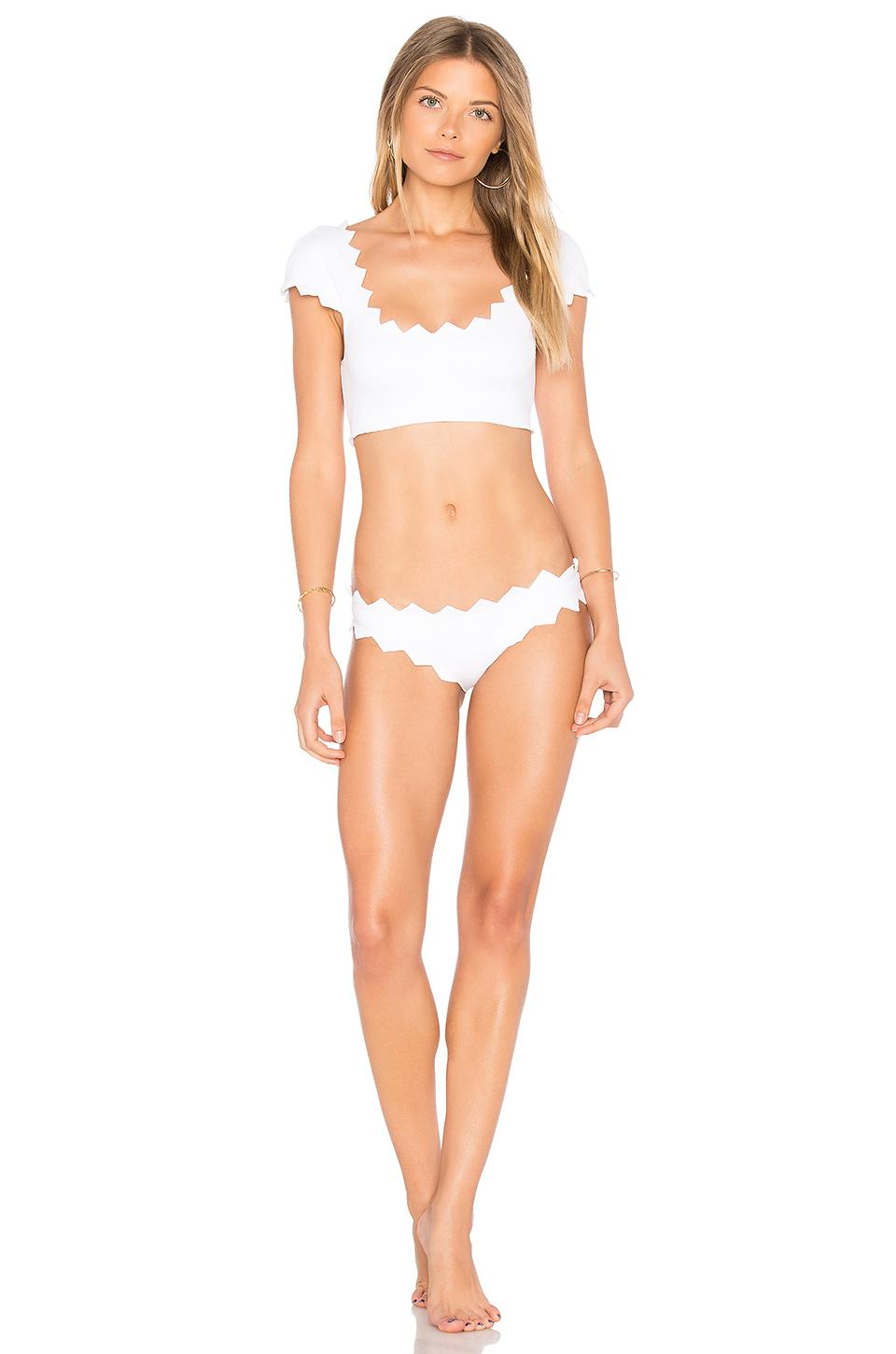 Marysia Swim Honolulu Bottom In White Lyst