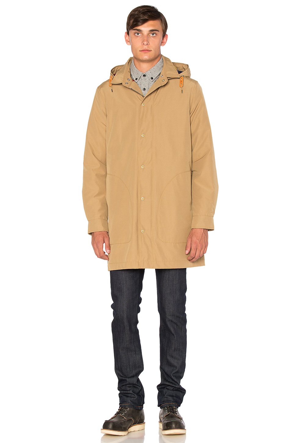 Lyst Penfield Ashford Insulated Rain Jacket In Blue For Men