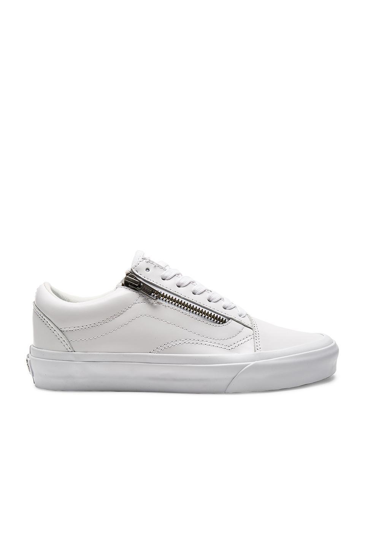 vans old skool zip dx sneaker in white lyst. Black Bedroom Furniture Sets. Home Design Ideas
