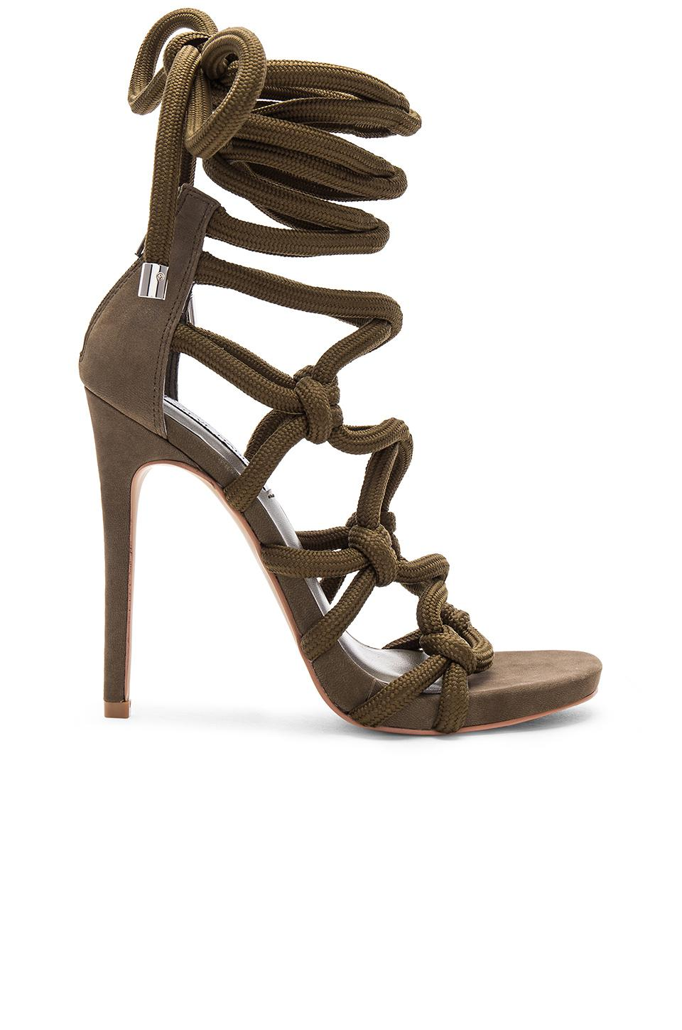 57b9a3fcfc70 Lyst - Steve Madden Dream Heel in Green