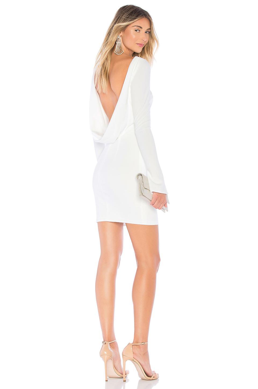 ec33161a5941b Katie May Glisten Dress in White - Lyst