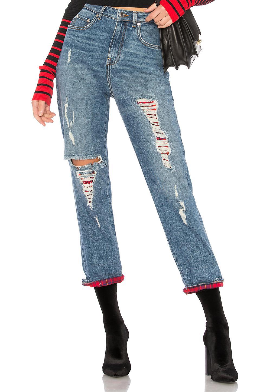 b13d1170 Tommy Hilfiger Tommy X Gigi Destroyed Jean in Blue - Lyst