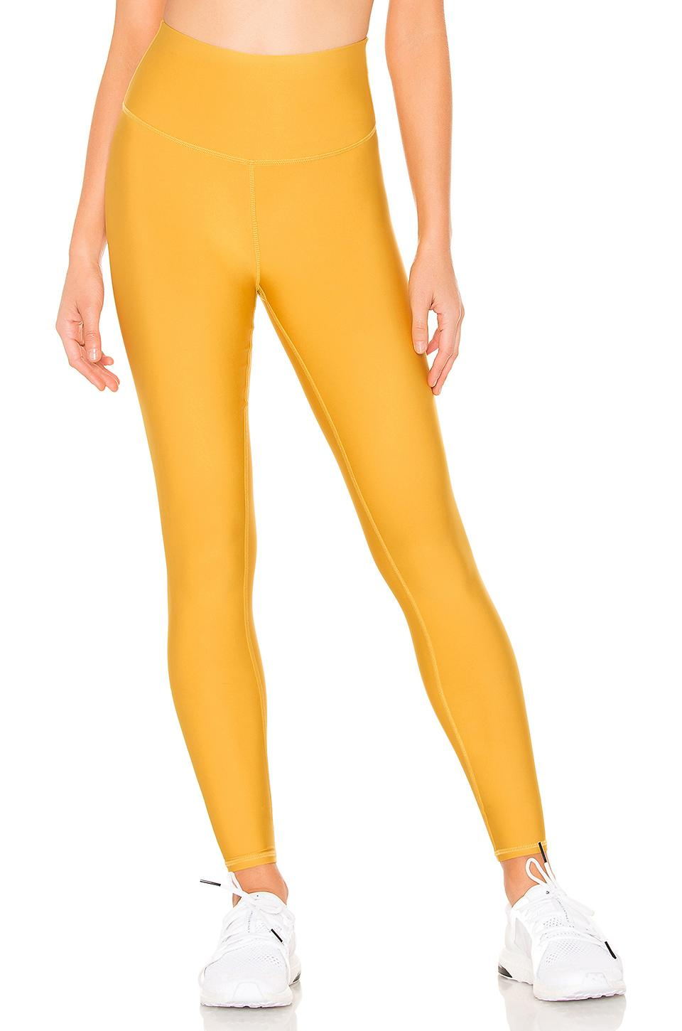 295046dcc54157 ... Alo Yoga - Yellow High Waist Airlift Legging - Lyst. Visit REVOLVE. Tap  to visit site