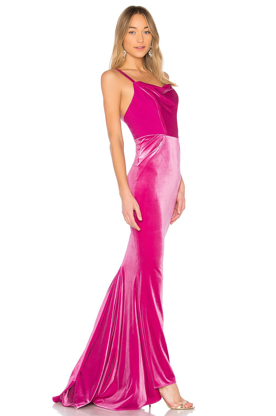 a6dccc0845a5 Michael Costello Jesse Gown in Pink - Lyst