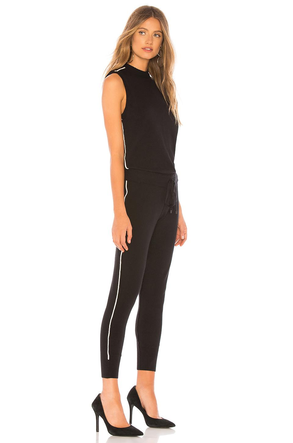 dc5559858387 n PHILANTHROPY - Black Laser Jumpsuit - Lyst. View fullscreen