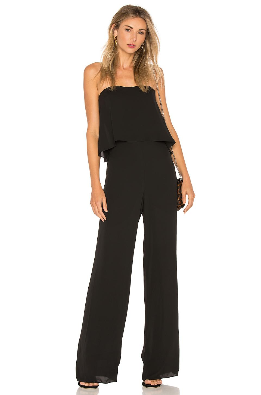 6787a9682435 Lyst - Amanda Uprichard Topanga Jumpsuit in Black