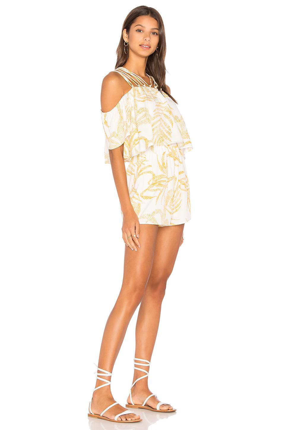 763e126c34f MINKPINK Paradise Strappy Playsuit - Lyst