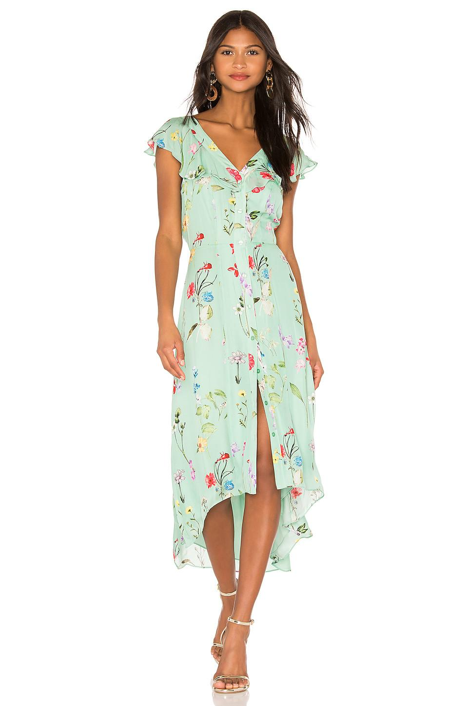 1f3ba6b43c0 Lyst - Parker Raven Dress in Green