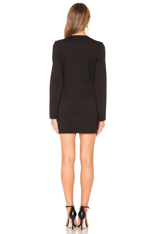 83f0c6e43b Krisa - Black Deep V Blazer Dress - Lyst. View fullscreen