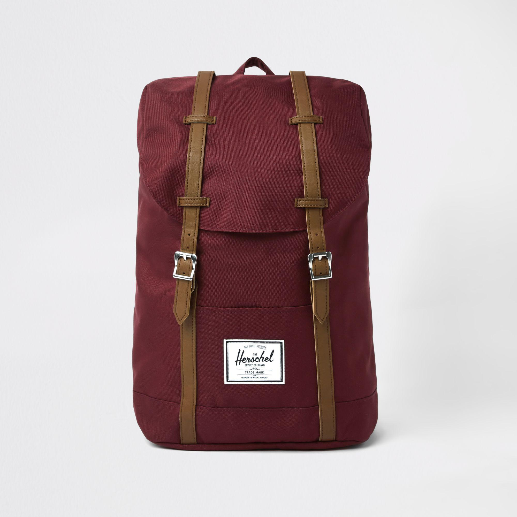 201a1a9445e1 Herschel Supply Co. Retreat Backpack in Red for Men - Lyst
