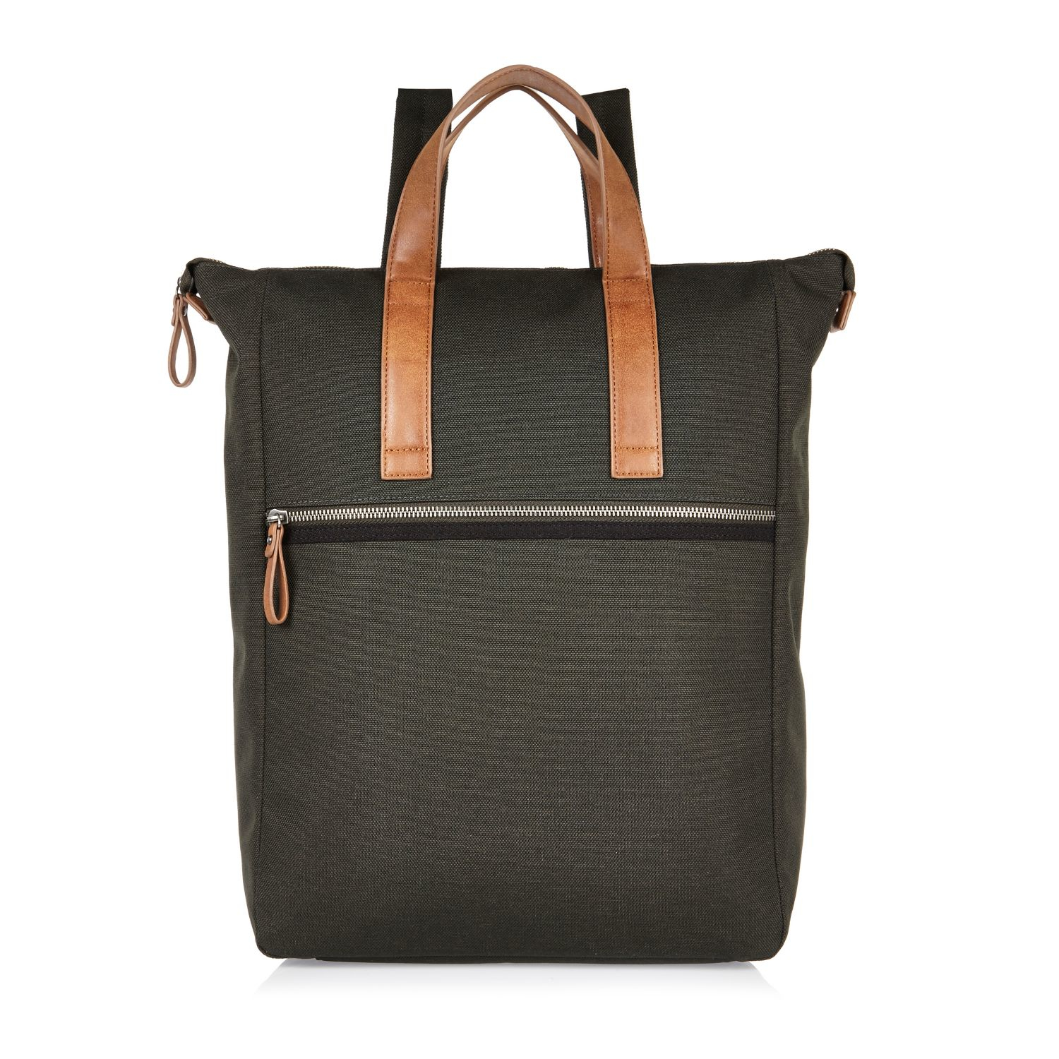 Canvas Backpack River Island
