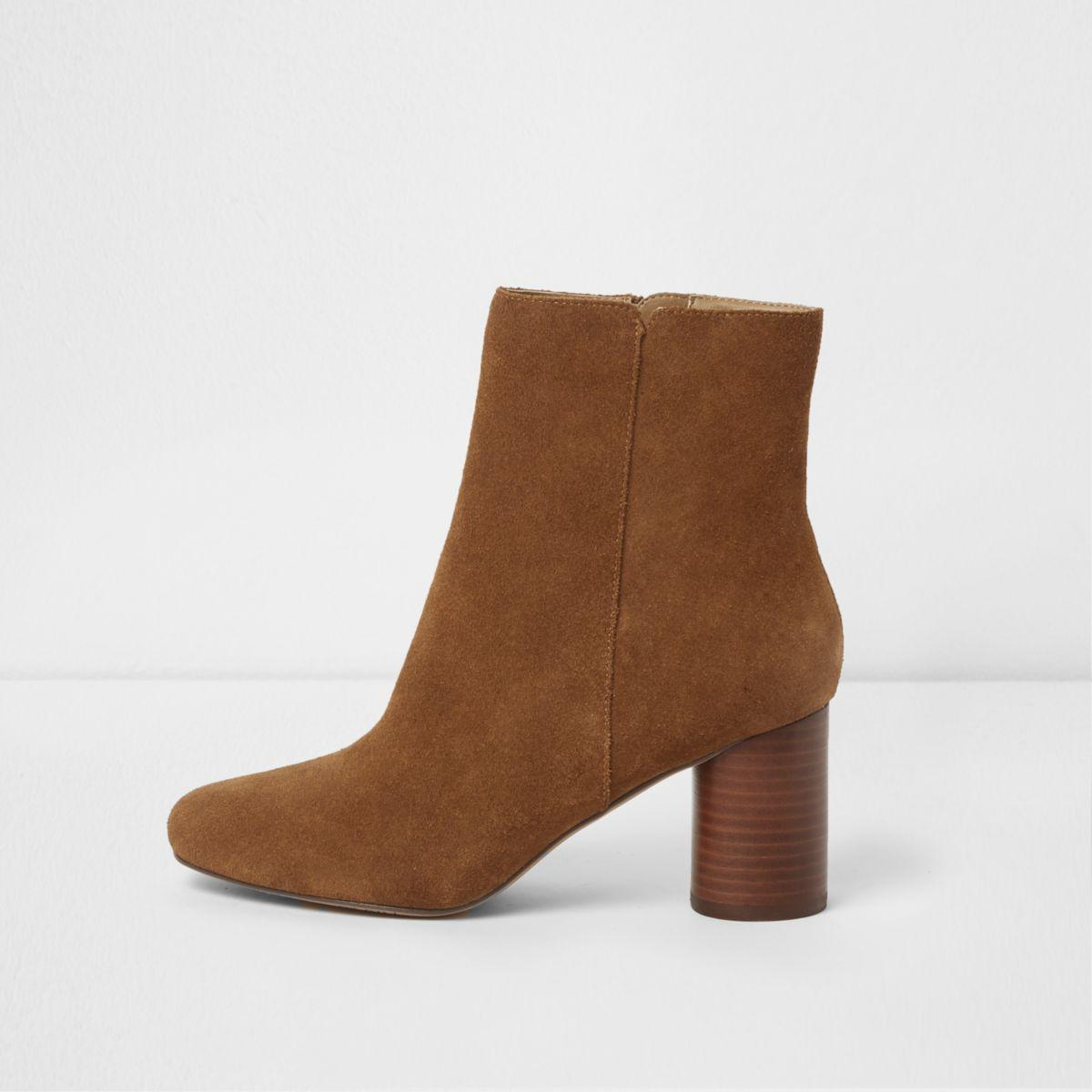 Dark Brown Suede Shoes Women