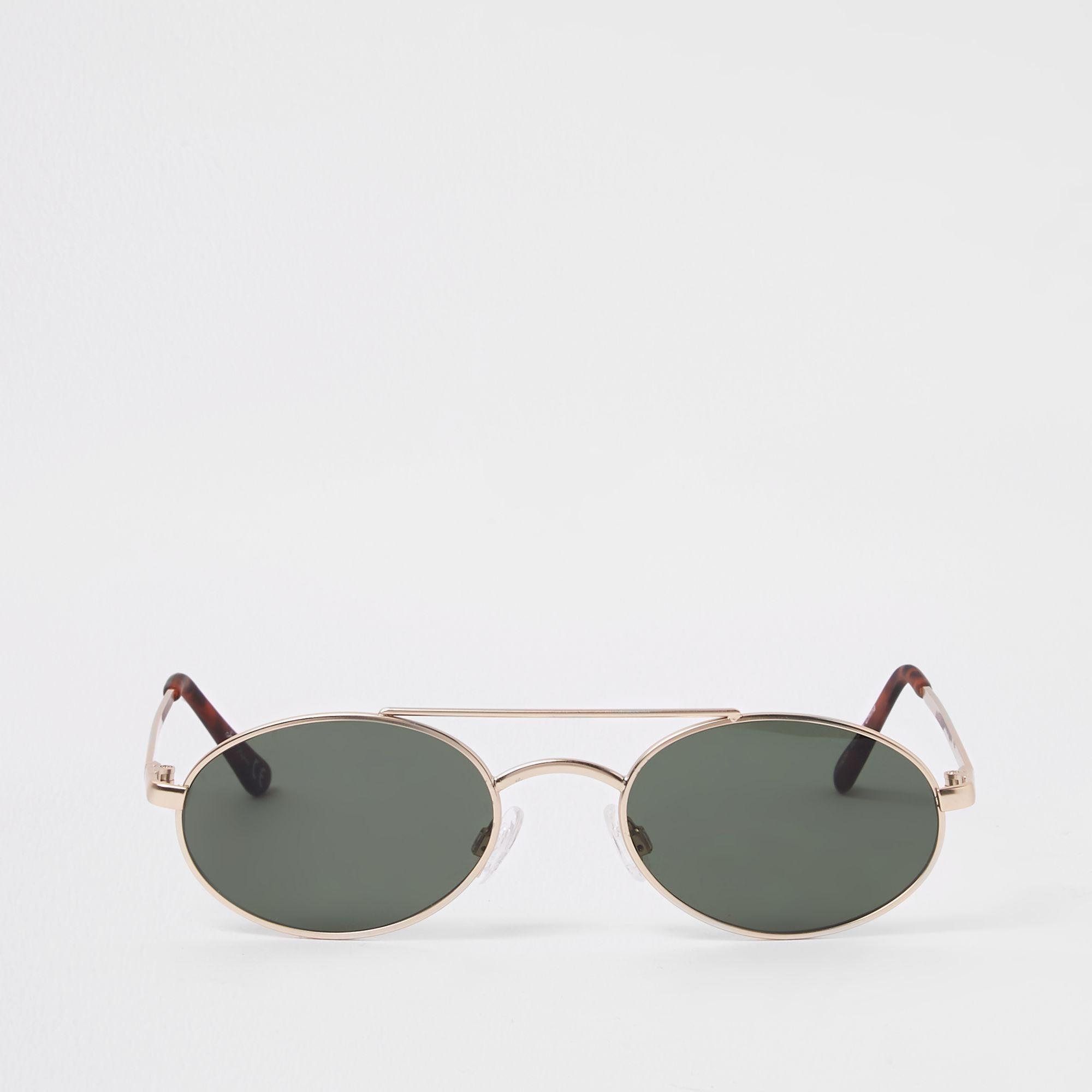 8208c69ce5f8 River Island Jeepers Peepers Aviator Sunglasses in Gray for Men - Lyst
