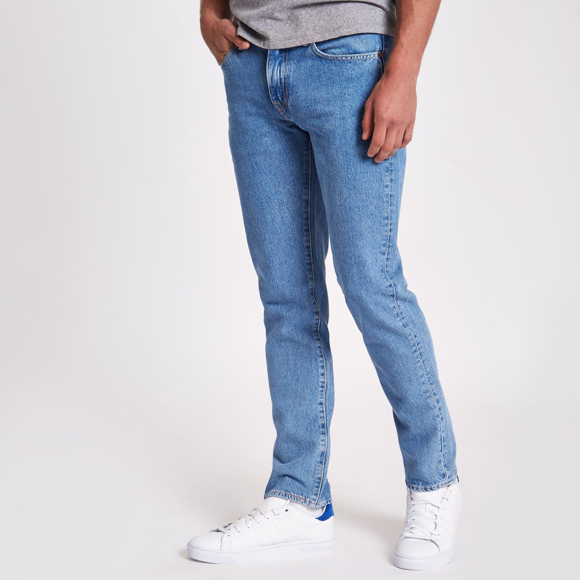 9f2dd8c2925 Levi's Light Blue 511 Slim Fit Jeans in Blue for Men - Lyst
