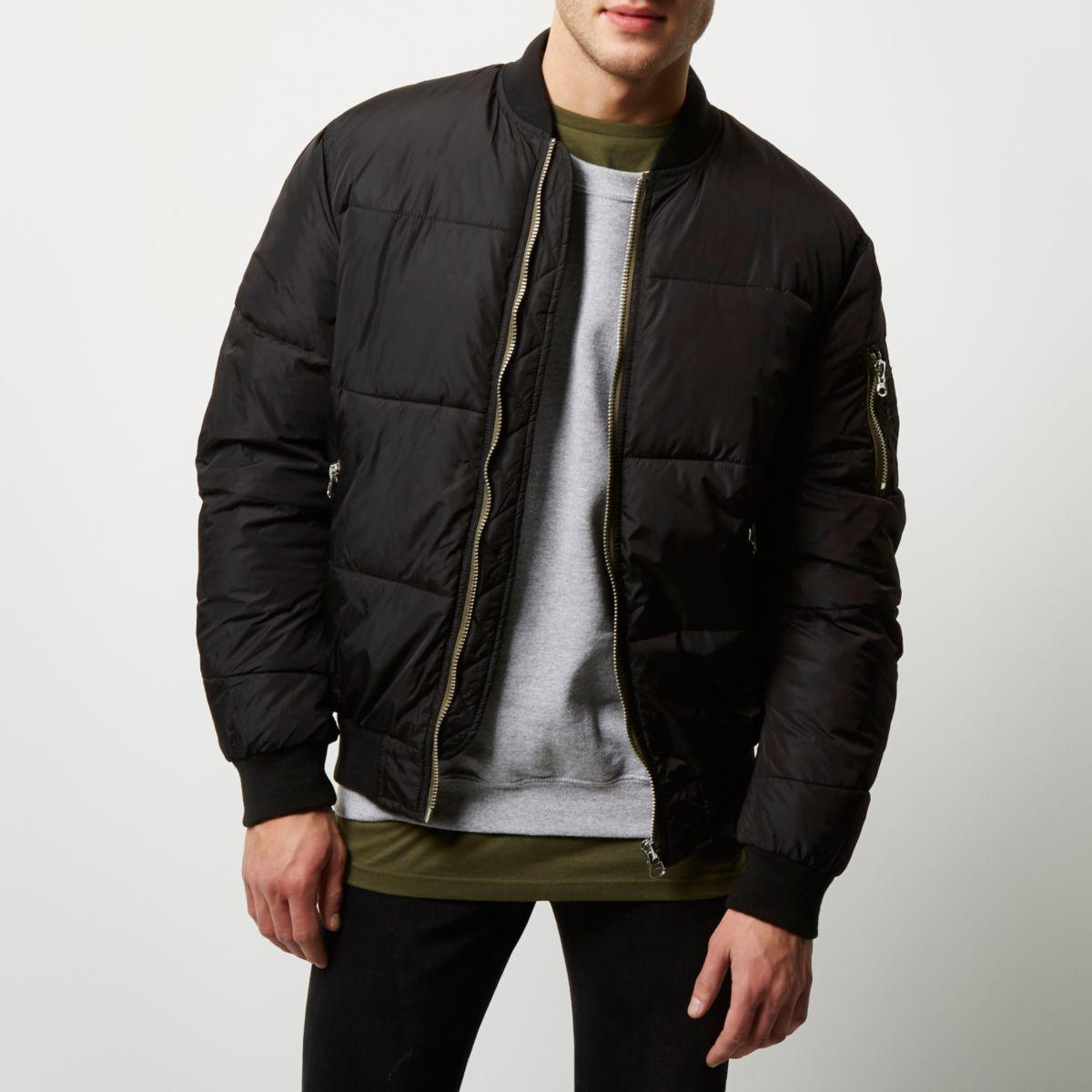 Leather Jacket Urban River Island