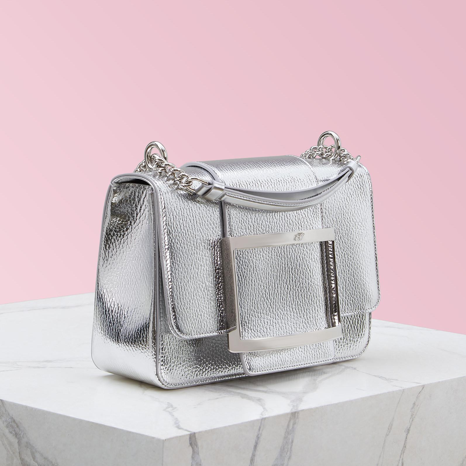 Roger Vivier - Metallic Très Vivier Bag Small - Lyst. View fullscreen 6e1a69979eef3