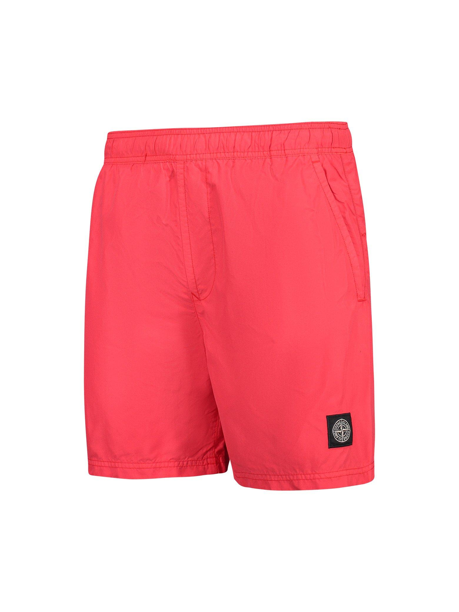 033a4c3754a4e Stone Island Swimming Trunks in Pink for Men - Lyst