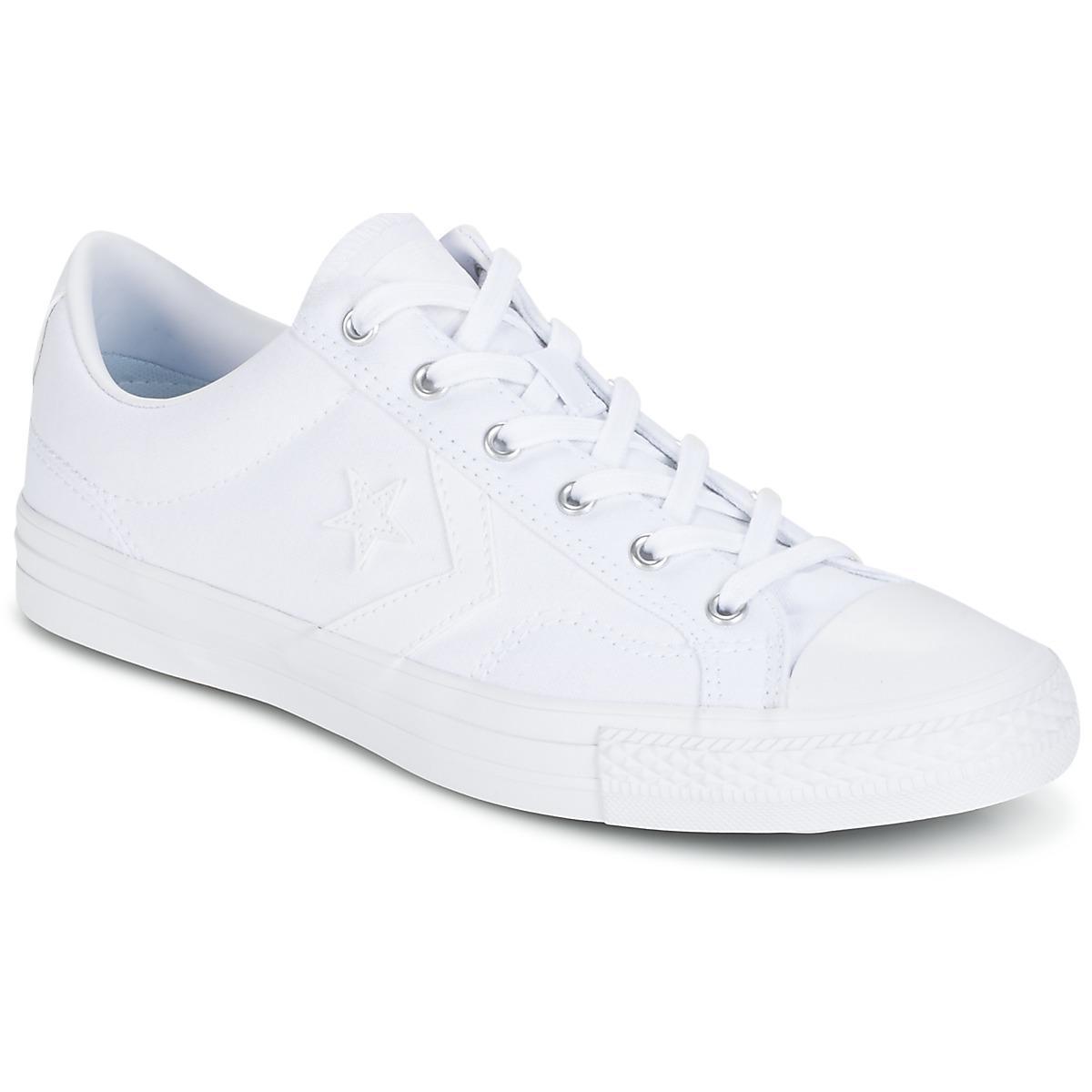 e137e0c4a4c0 Converse - Star Player Canvas With Gum Ox White white white Shoes  (trainers. View fullscreen
