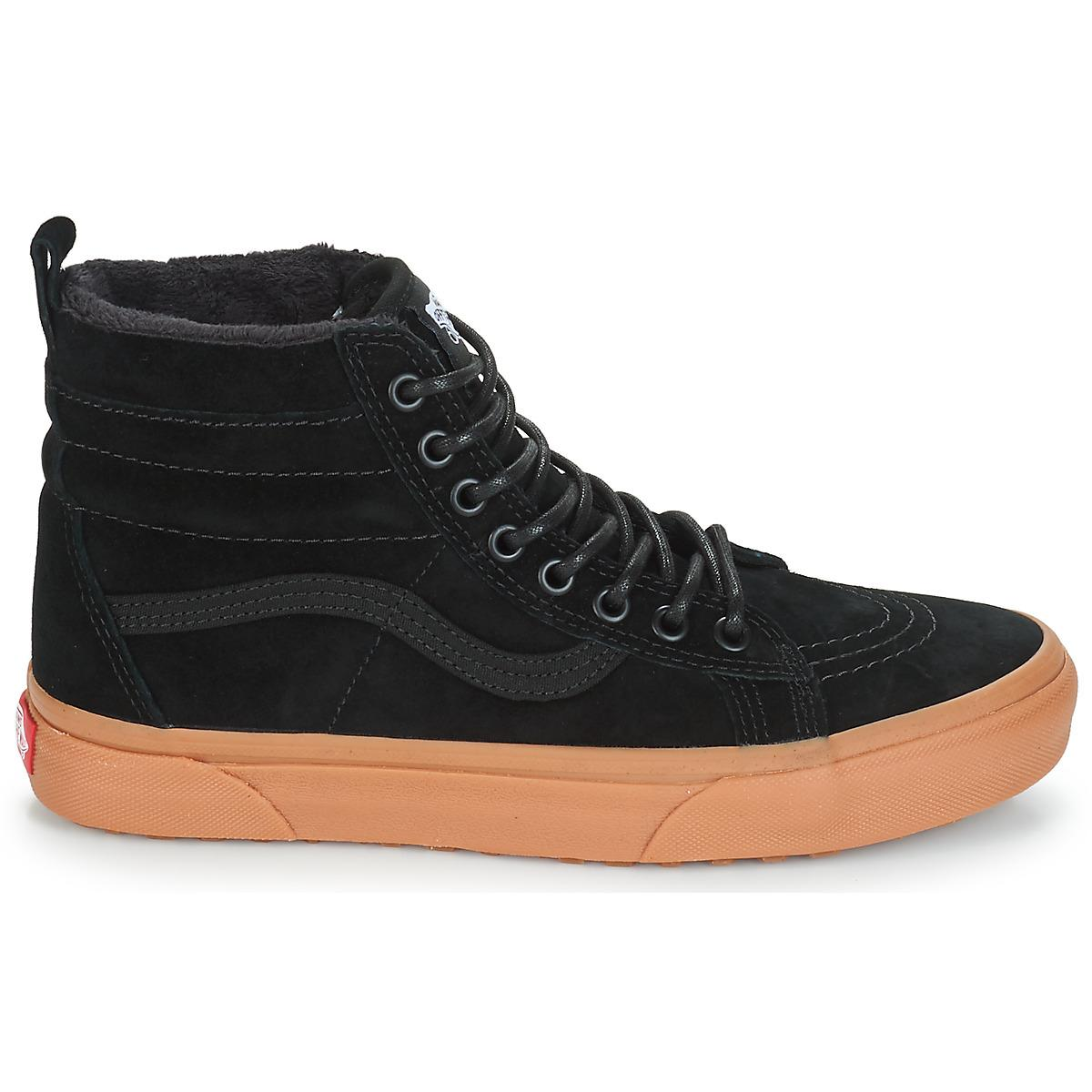 50e7978ddde4 Vans - Sk8-hi Mte Women s Shoes (high-top Trainers) In Black. View  fullscreen