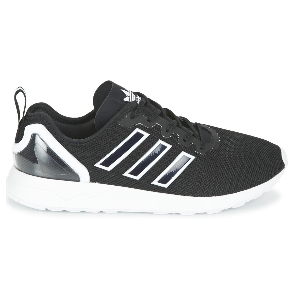 f6f071ad6 Adidas - Black Zx Flux Racer Shoes (trainers) for Men - Lyst. View  fullscreen