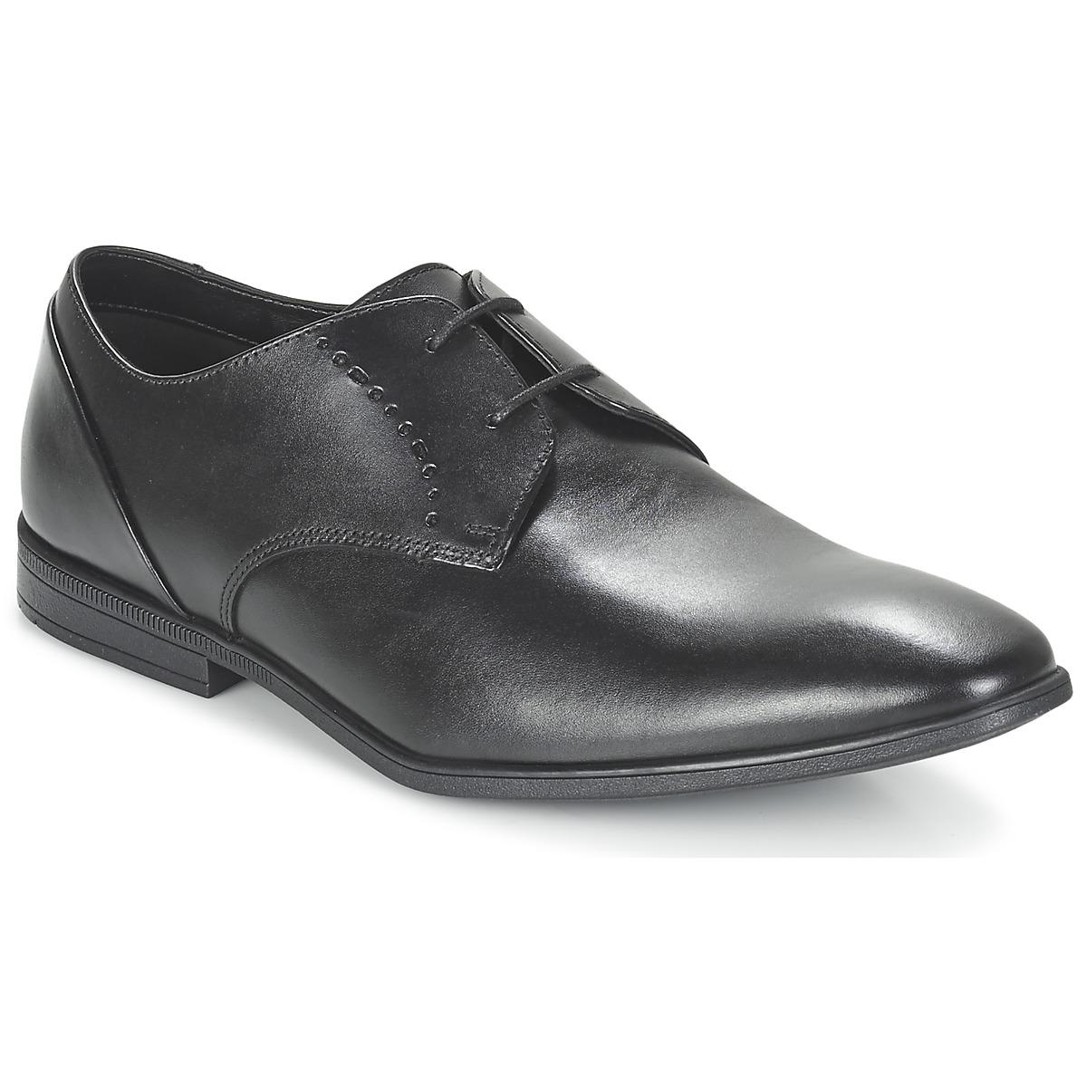 e59000c74280 Clarks Bampton Lace Smart   Formal Shoes in Black for Men - Lyst