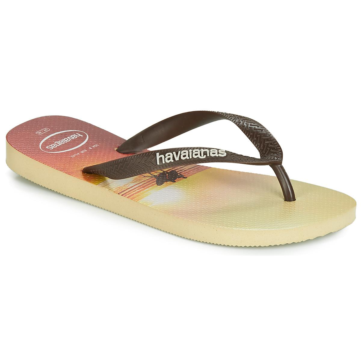 309a08368 Havaianas Hype Flip Flops   Sandals (shoes) in Natural for Men - Lyst