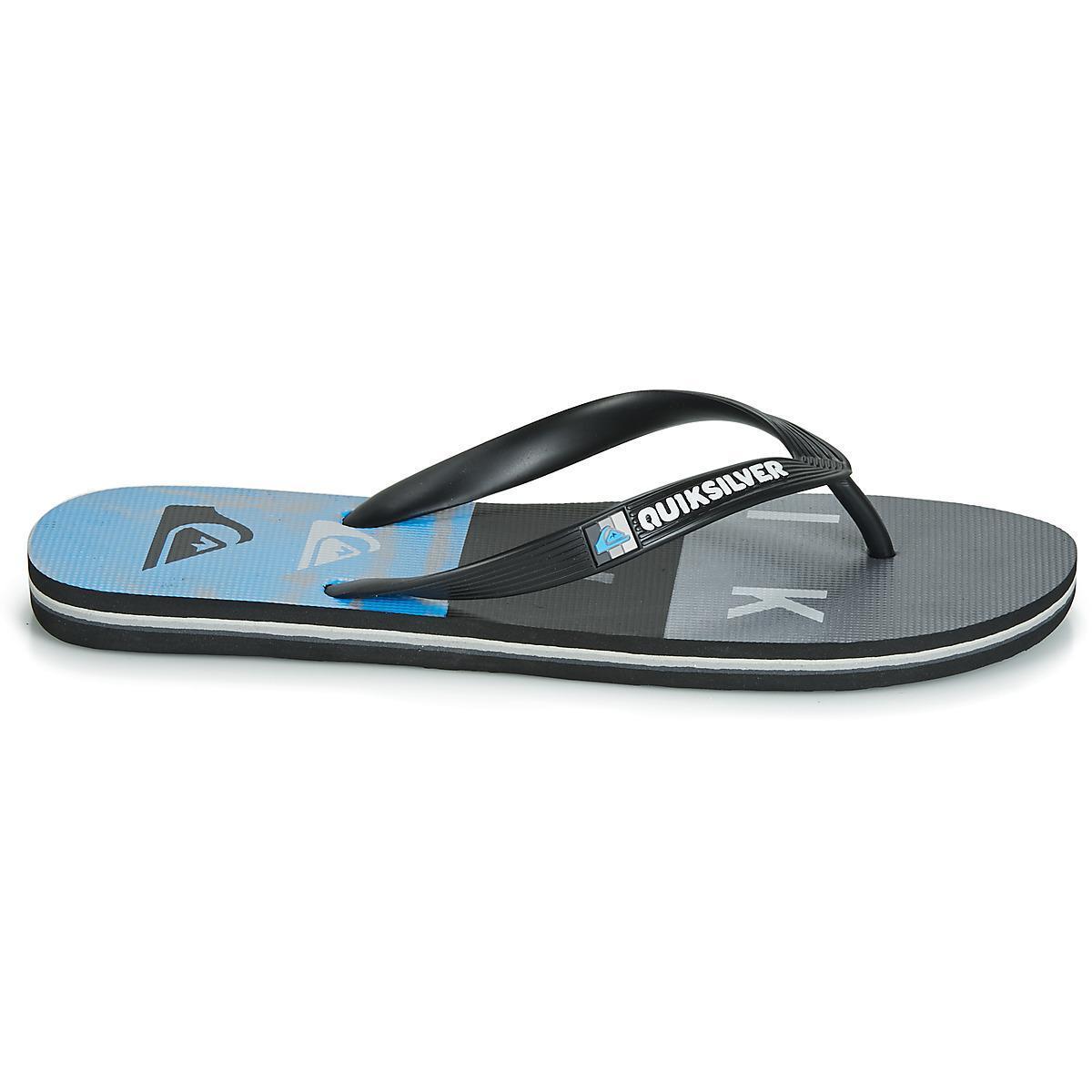 Quiksilver Molokai Wordblock Volley M Sndl Xkkb Flip Flops   Sandals ... b79c8f83005