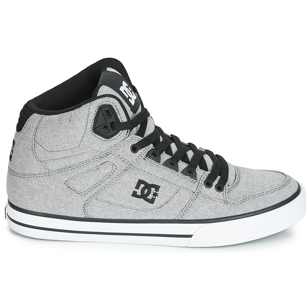 1276912bd4 DC Shoes - Gray Pure Ht Wc Txse M Shoe Gry Shoes (high-top. View fullscreen