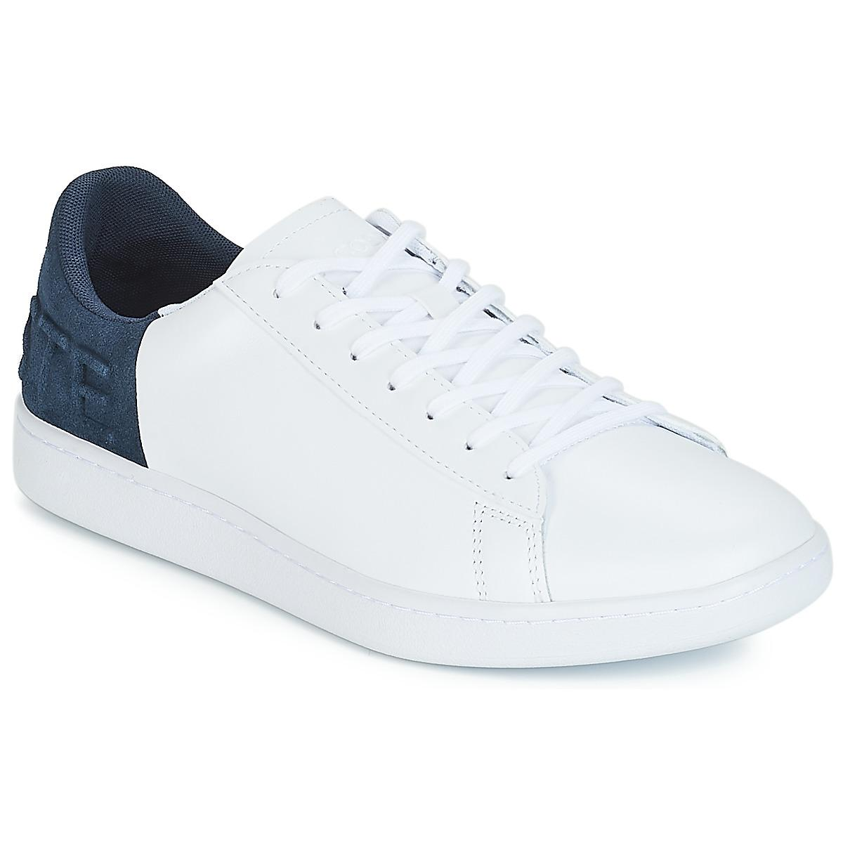 bebf16ed1222a Lacoste - White Carnaby Evo 318 6 Shoes (trainers) for Men - Lyst. View  fullscreen