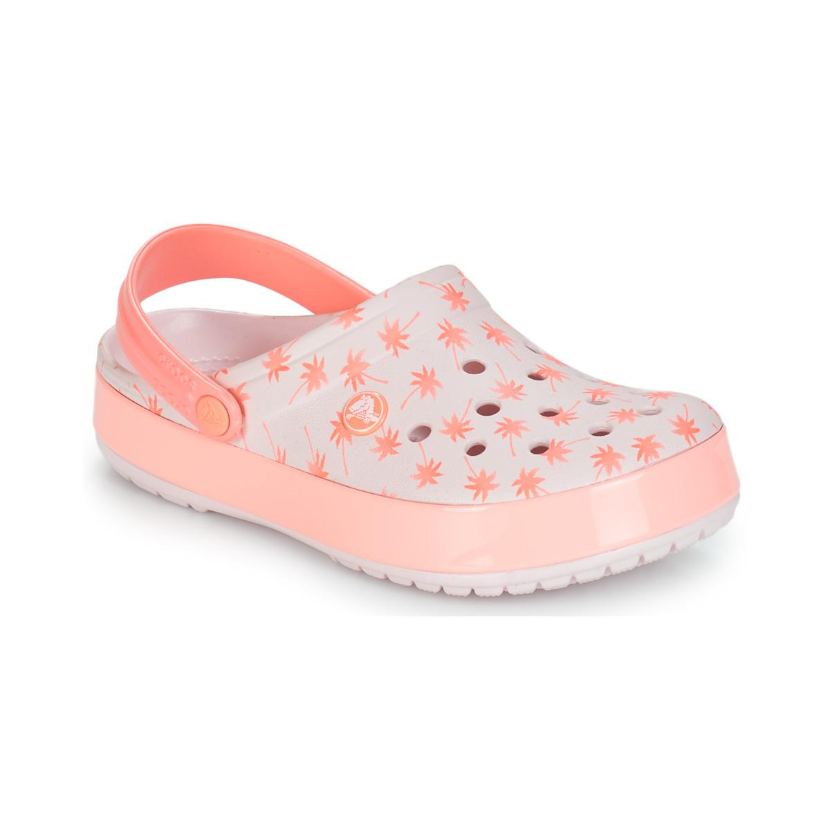 e6fc4dcea92a Crocs™ Crocband Seasonal Graphic Clog in Pink - Lyst