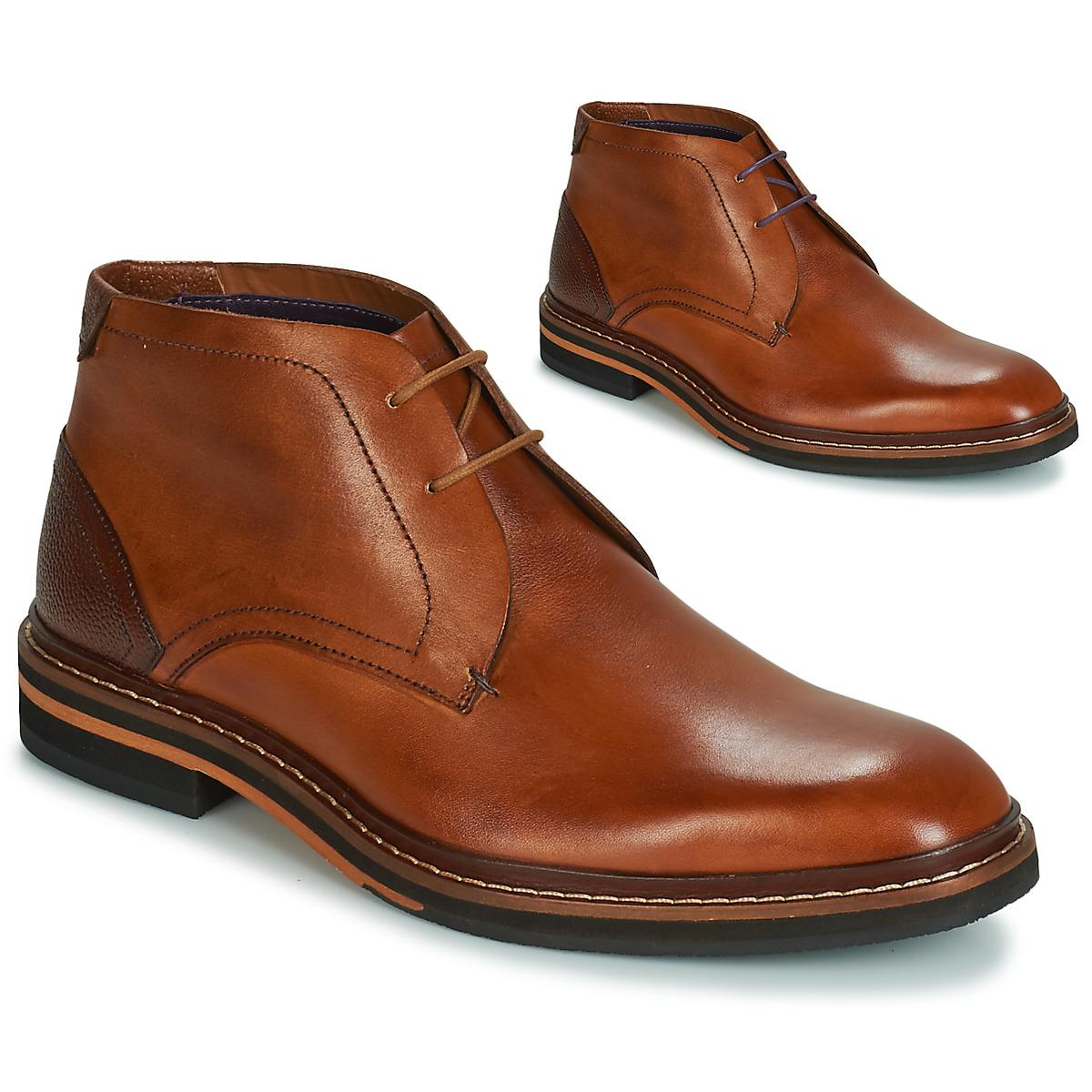 b8eccbc39 Ted Baker Azzlan Mid Boots in Brown for Men - Lyst