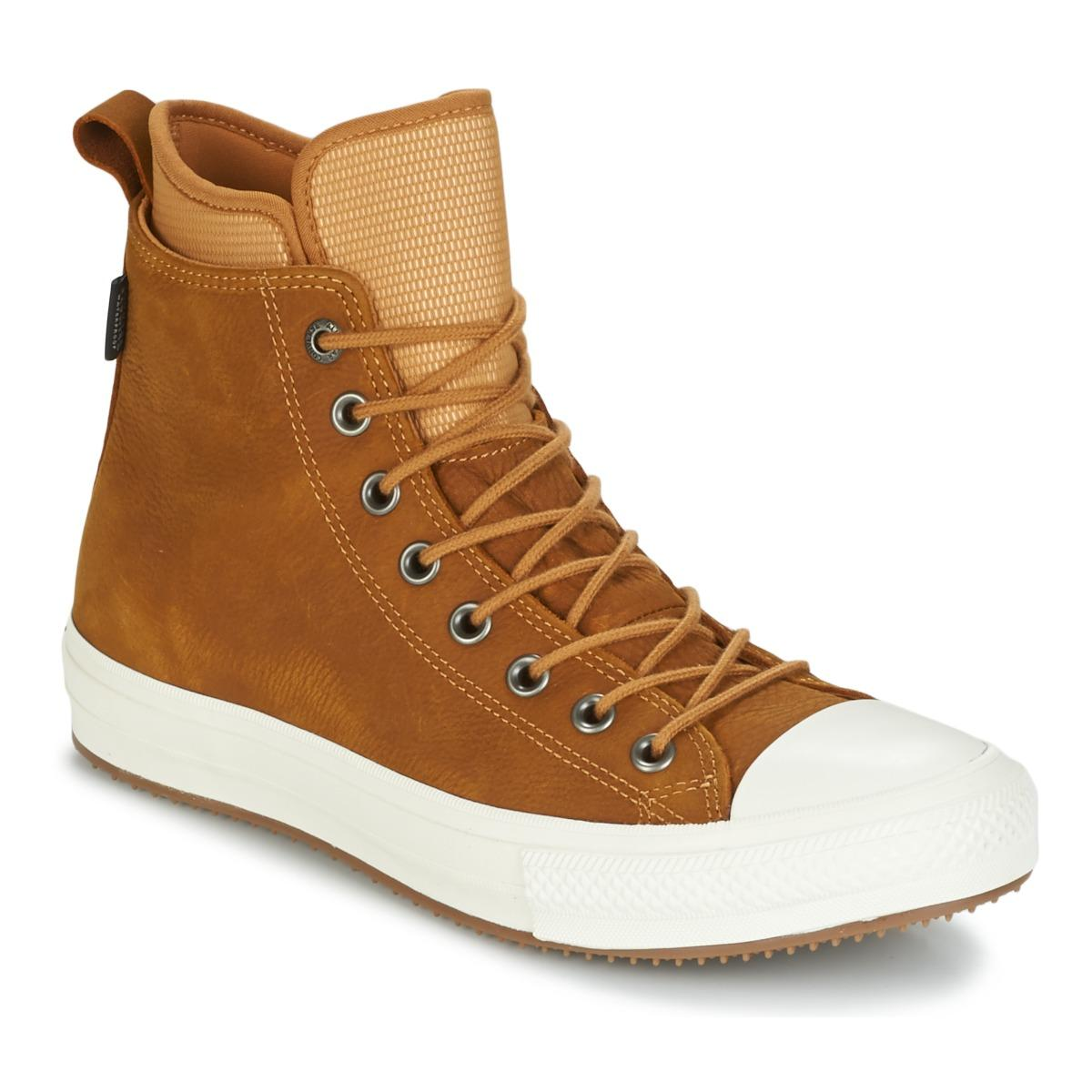 cab219d1a18b Converse. Men s Brown Chuck Taylor Wp Boot Nubuck Hi Raw Sugar egret gum  Shoes (high-top ...
