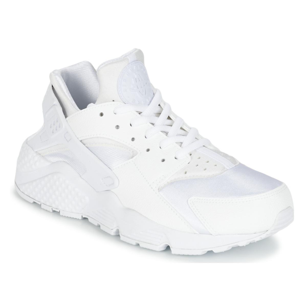 45c7ce42eb28 Nike Air Huarache Run W Shoes (trainers) in White - Lyst