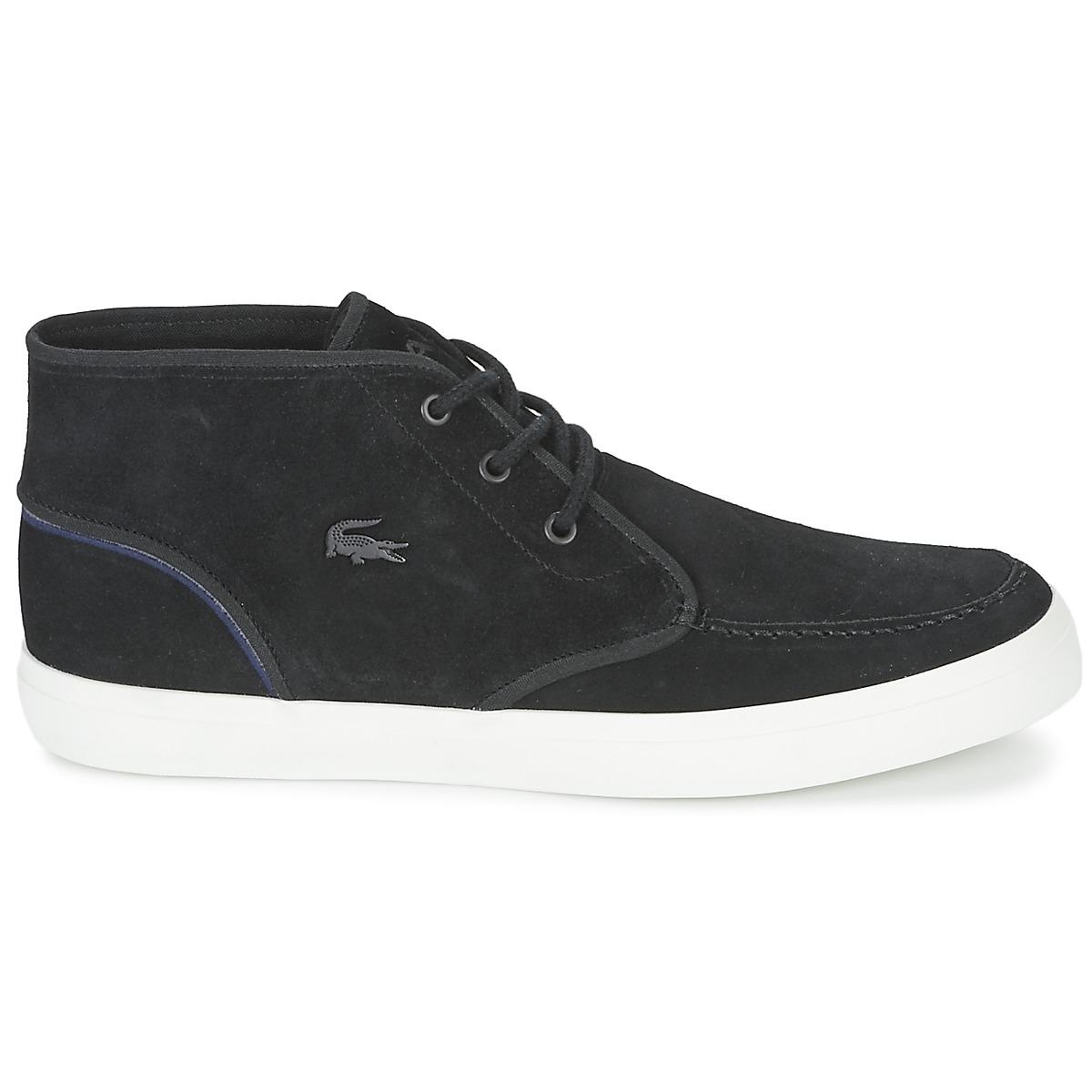 8782bb667067a Lacoste - Black Sevrin Mid 316 1 Shoes (high-top Trainers) for Men. View  fullscreen
