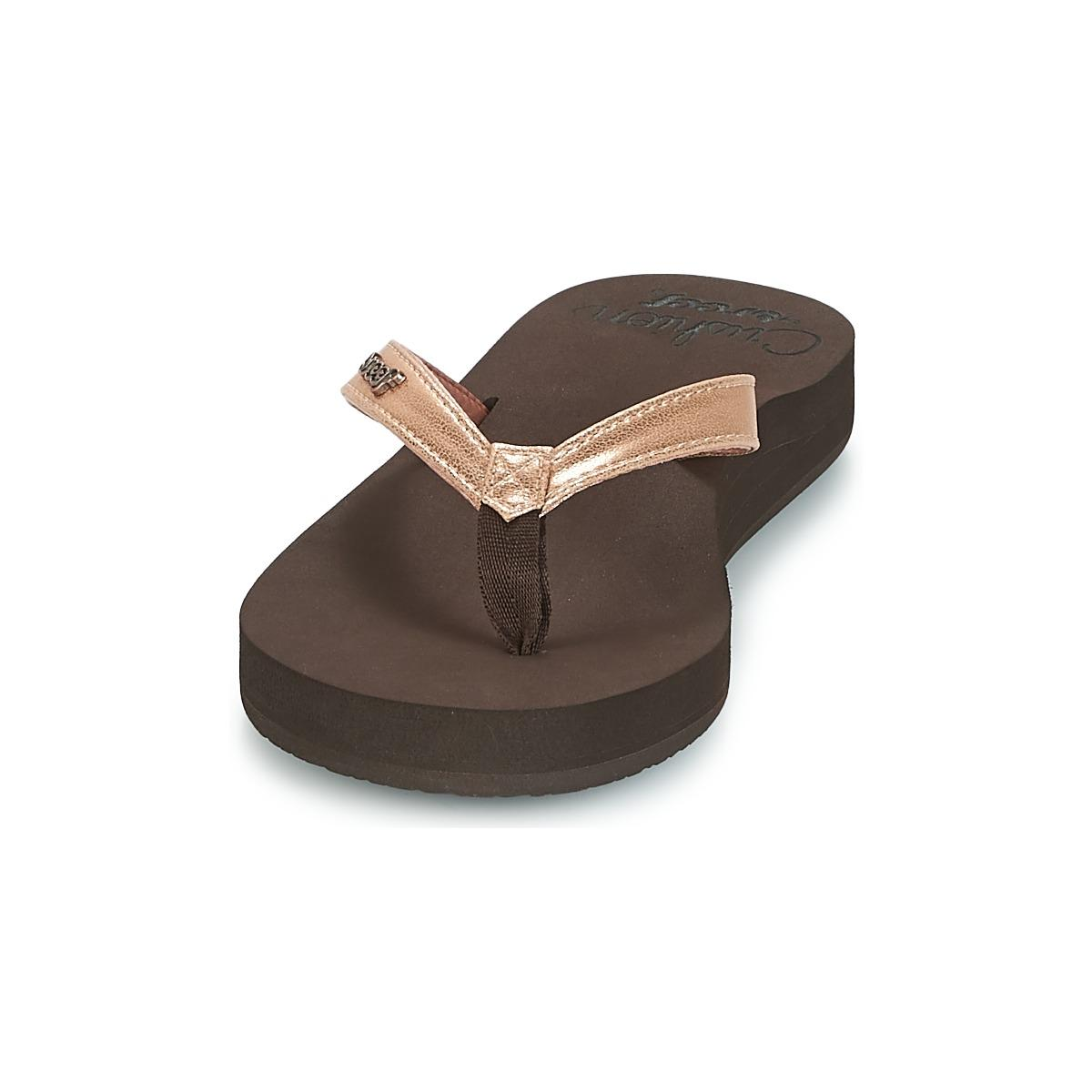 a75852dd83d597 Reef - Cushion Luna Women s Flip Flops   Sandals (shoes) In Brown - Lyst.  View fullscreen