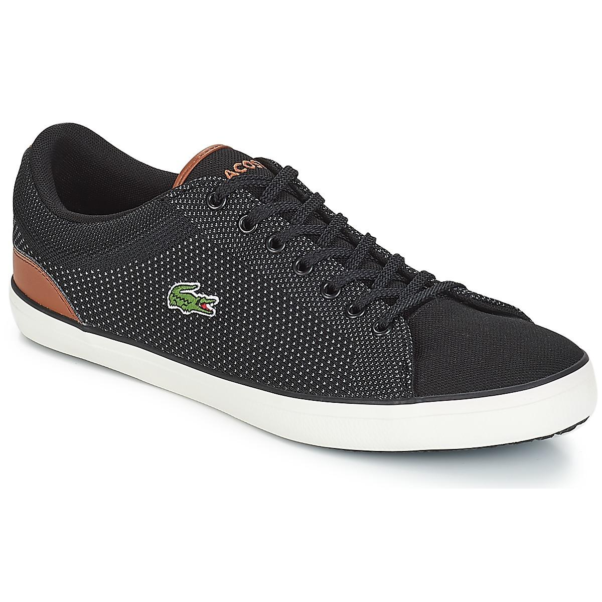 11dc17c75 Lacoste Lerond 318 1 Shoes (trainers) in Black for Men - Lyst