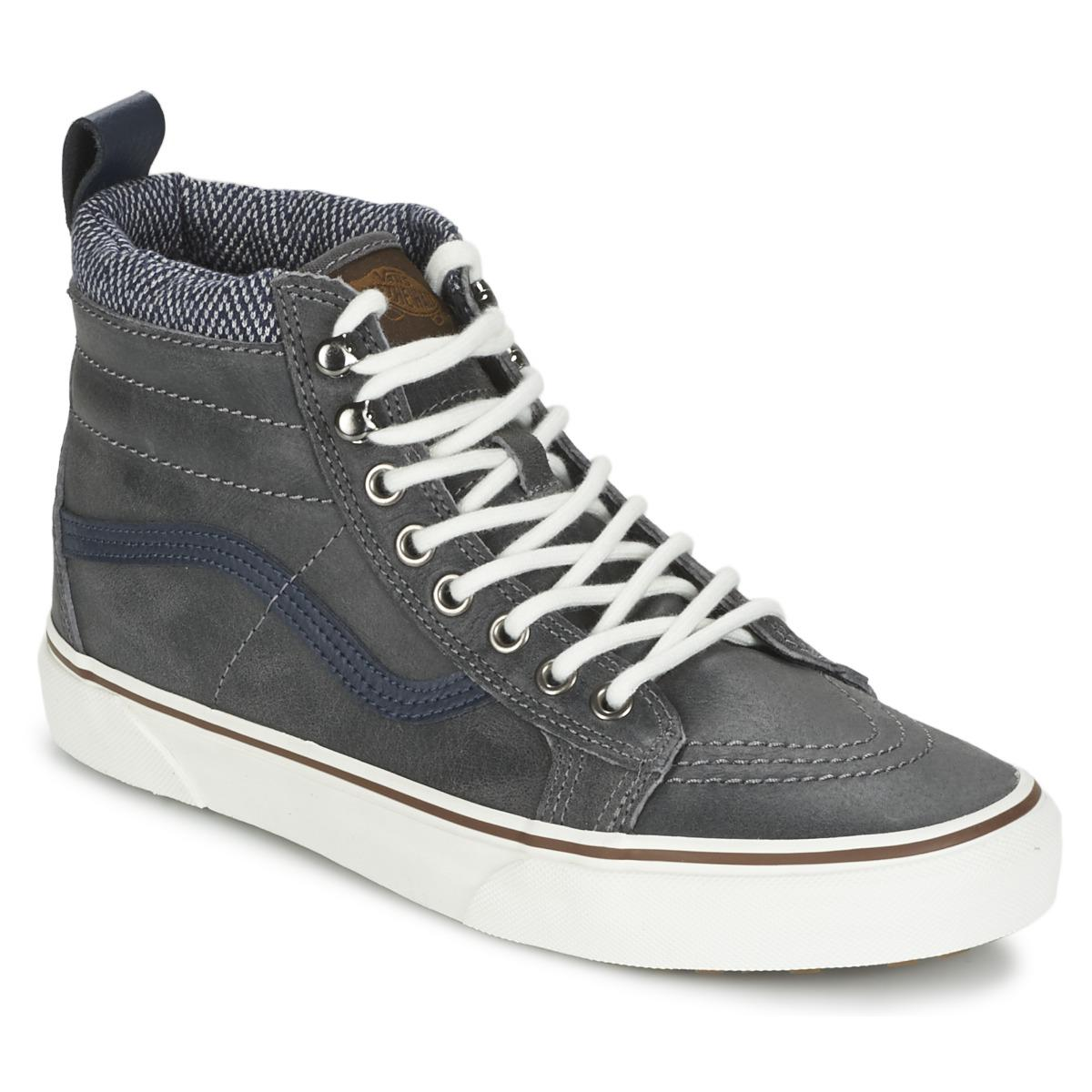 c4b3dce3ae7ed2 Vans Sk8-hi Mte Shoes (high-top Trainers) in Gray - Lyst