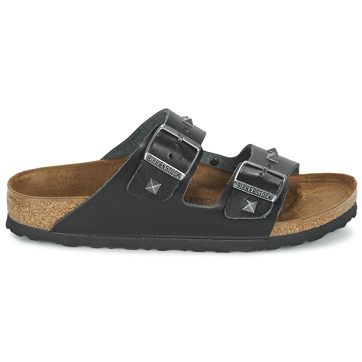 Birkenstock Arizona Nieten Mules   Casual Shoes in Black - Lyst 3eceb8d3312
