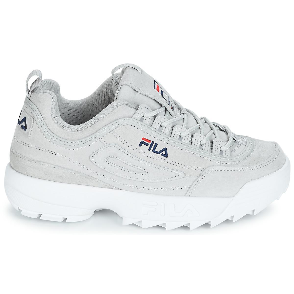 7bd88da5d6d Fila - Natural Disruptor S Low Wmn Shoes (trainers) - Lyst. View fullscreen